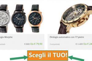 orologi scontati di marca