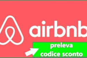 airbnb codice sconto